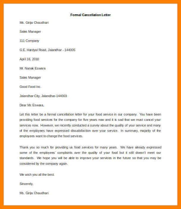 6+ formal letter examples | addressing letter