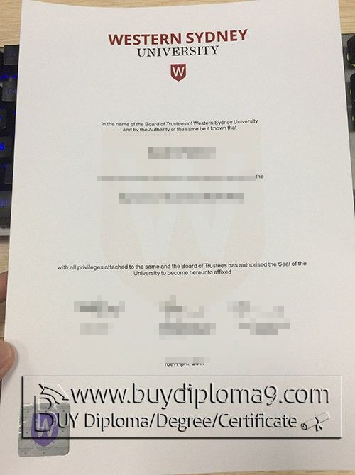 western sydney university certificate, Buy diploma, buy college ...