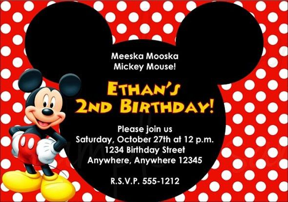 Free Birthday Invitation Templates - Themesflip.Com