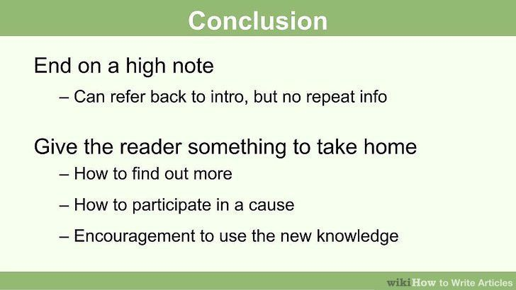 How to Write Articles (with Pictures) - wikiHow