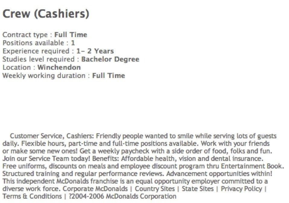 Cashier Manager Cover Letter