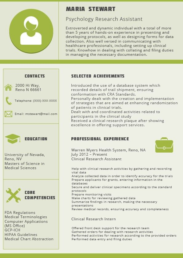 Chronological Resume Format 2016 | Resume 2016