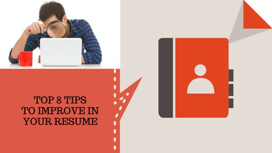 improving resumes, CVs, curriculum vitae,
