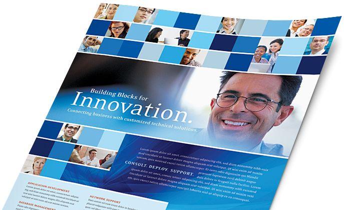 Desktop Publishing Templates - Brochures, Flyers, Newsletters