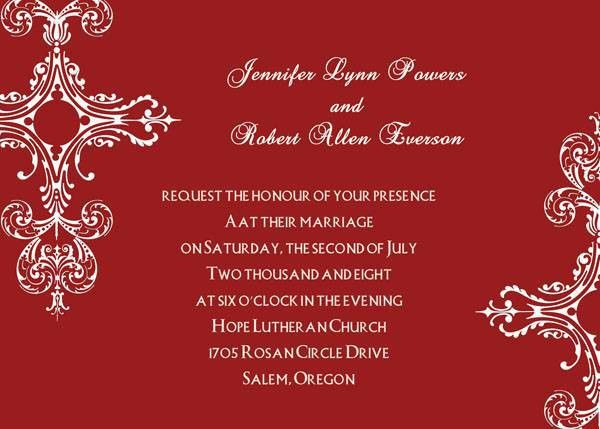 wedding invitation : online invitation templates - Superb ...