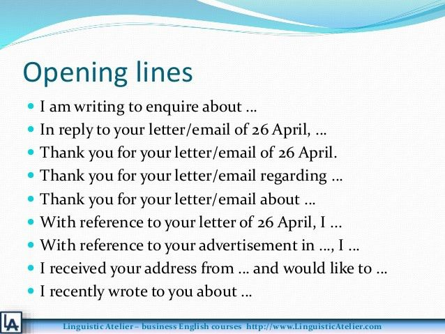 Business letters emails