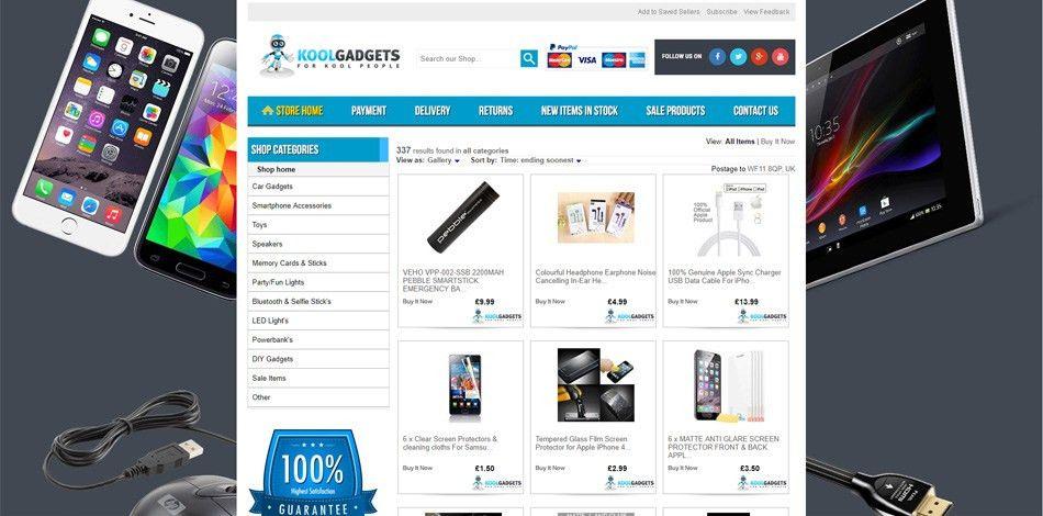 Custom eBay Store Shop & Logo & Listing Template Design Service ...
