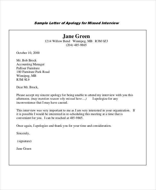 Sample Apology Letter For Being Late. 10 Tips For Writing A ...