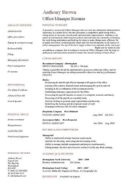 Dental Office Manager Resume 7 Dental Office Manager Resume ...
