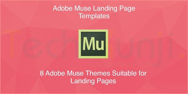 8 Adobe Muse Templates perfect for Landing Pages [2014] | Viral ...