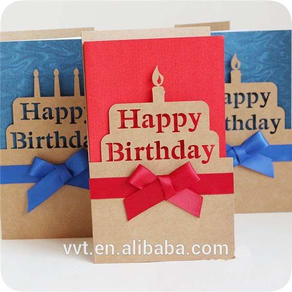 Happy Birthday Invitation Greeting Cards/sample Birthday Card ...