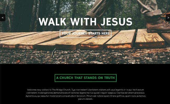 Church Websites Templates, Website Template Picker