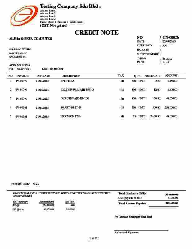 Credit Note Template. Credit Note Best 20+ Credit Note Ideas On ...