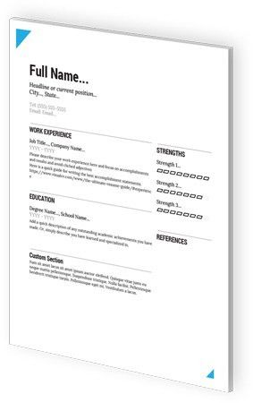 Google Docs Resume Templates by VisualCV
