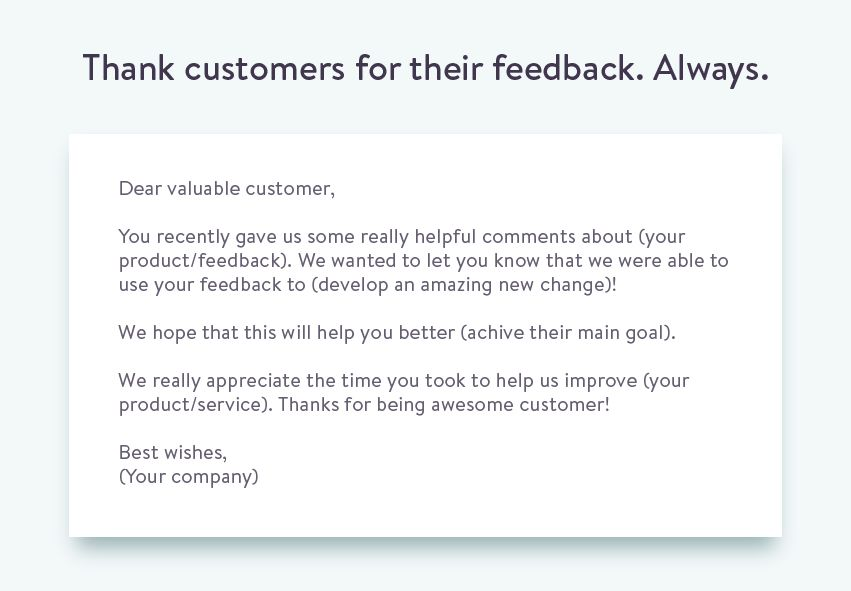 The Proper Way to Ask for Customer Feedback.