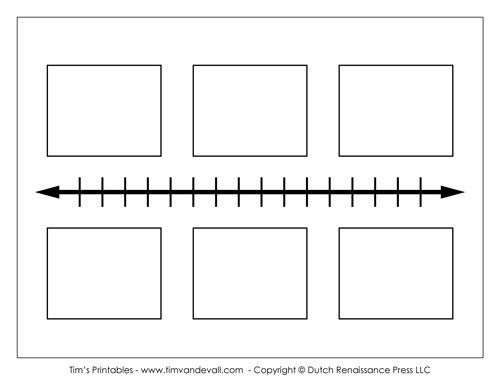 Free Biography Timeline Template for School - Tim's Printables