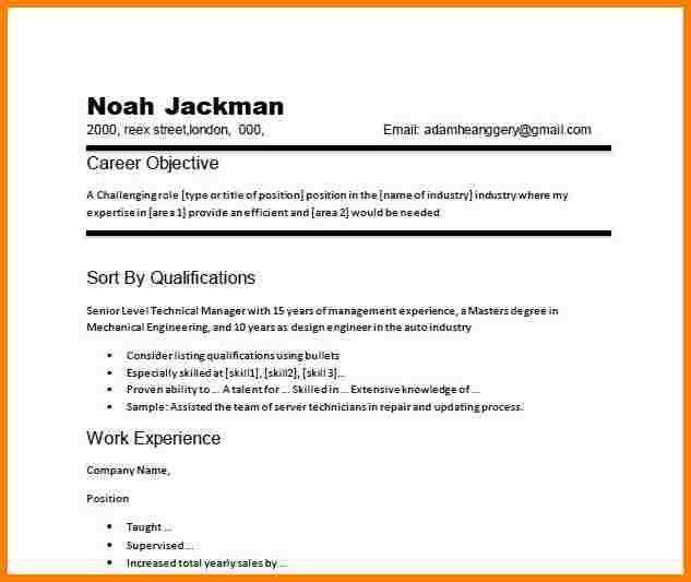 6+ career objective resume example | inventory count sheet