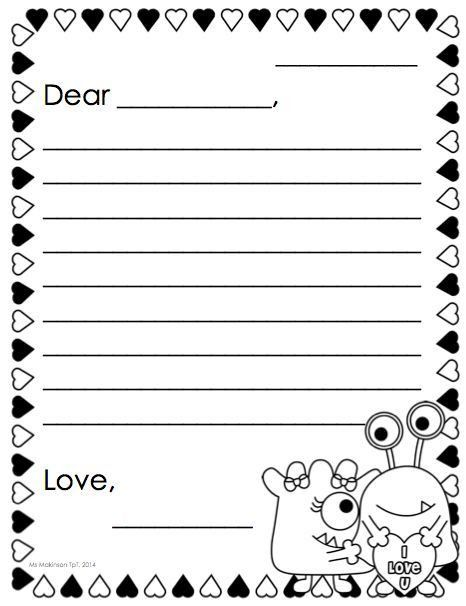 Best 25+ Letter template for kids ideas on Pinterest | School ...