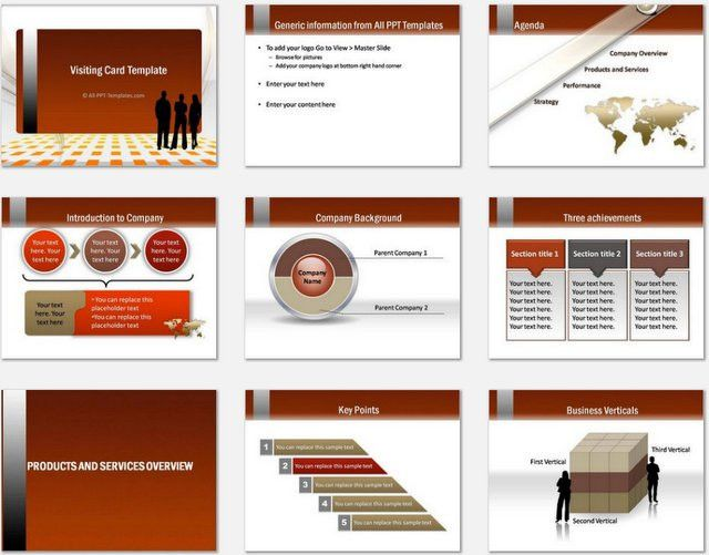 Professional Business Profile Formats for Free Download - Online ...
