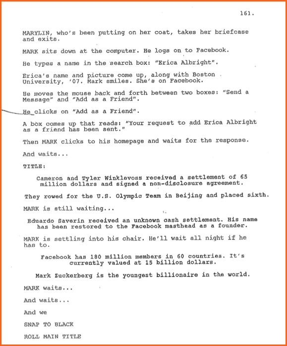 5+ what does a movie script look like - Budget Template Letter