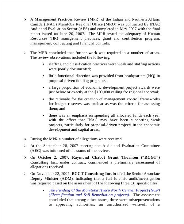 Report Template] Report Template 21 Free Word Excel Pdf Documents ...