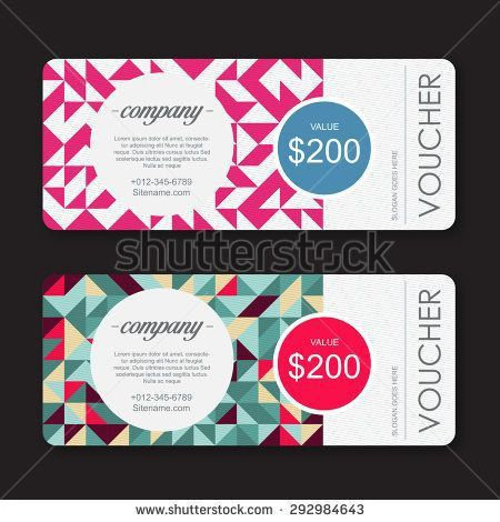 The 25+ best Coupon design ideas on Pinterest | Gift voucher ...