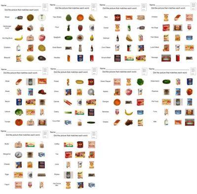 Edmark Functional Word Series - Grocery Words