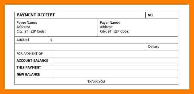 3+ template receipt of payment   protect letters