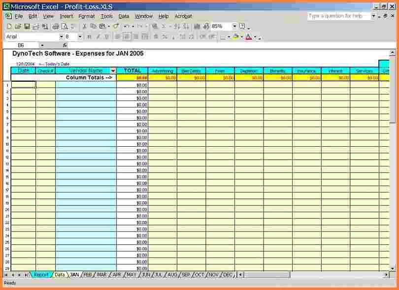 5+ business expense and income spreadsheet | Excel Spreadsheets Group