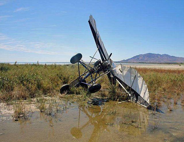 Border Patrol Seizes Crash-Landed Ultralight Aircraft - American ...