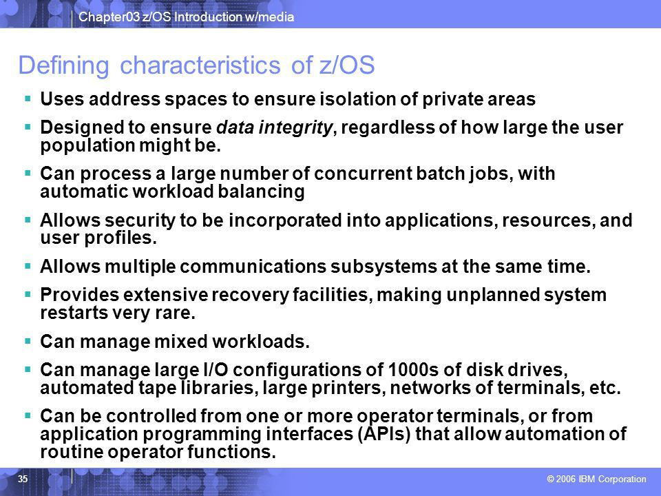 Chapter 3: z/OS Overview - ppt download