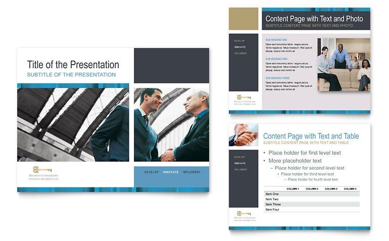 Small Business Consulting PowerPoint Presentation - PowerPoint ...