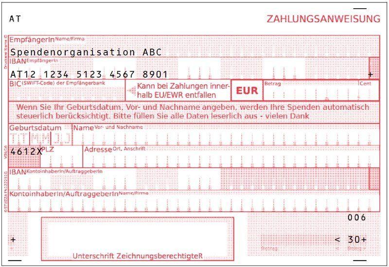 """STUZZA - Zahlen mit System - The """"Zahlungsanweisung"""""""