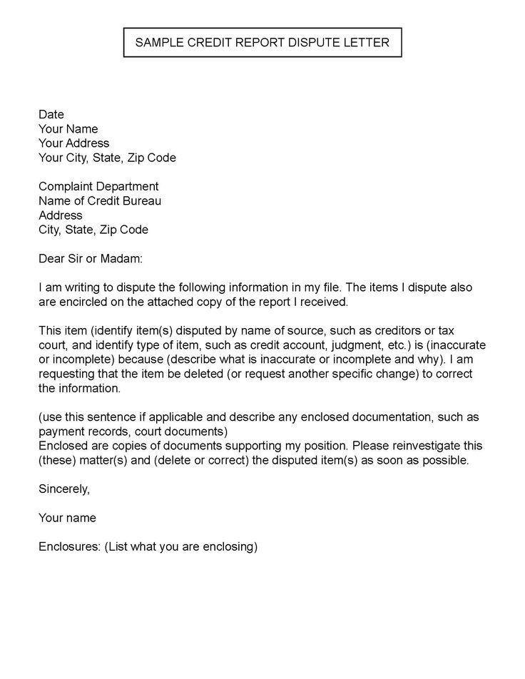 36 best Letters Legal Form Samples images on Pinterest | Credit ...
