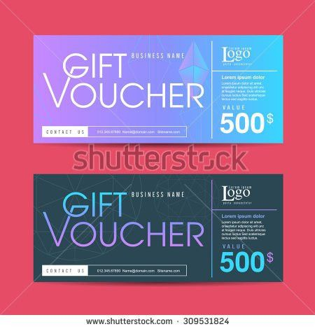 Gift Certificate Template Stock Images, Royalty-Free Images ...