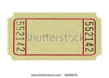 Blank Vintage Ticket Stock Illustration 305017751 - Shutterstock