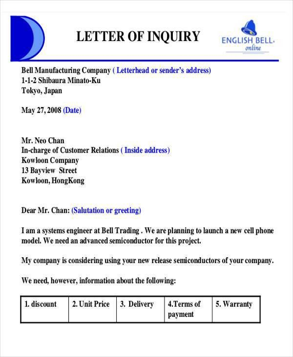 26 Sample Quotation Letters