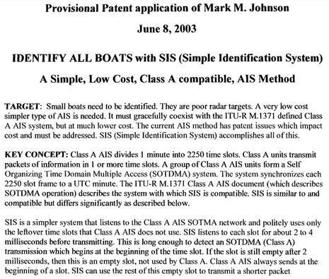 SRT acquires Class B AIS patent, consequences uncertain - Sailfeed