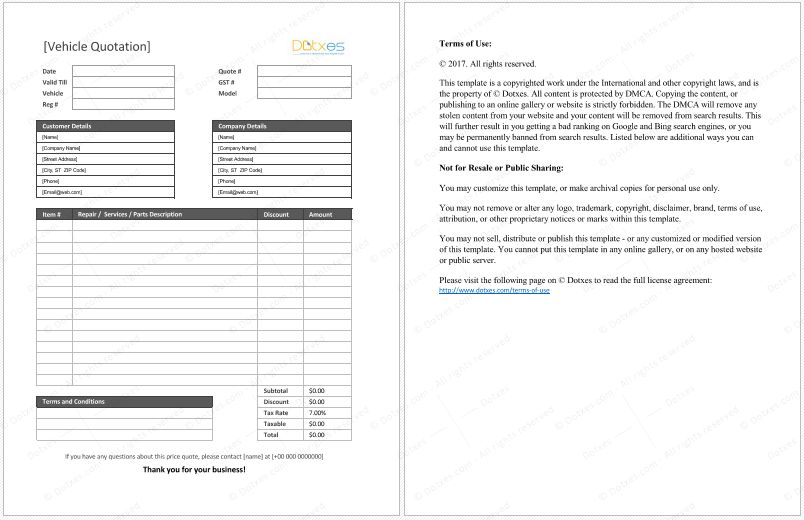 http://www.trainingables.com/sample-of-business-quotation-format ...