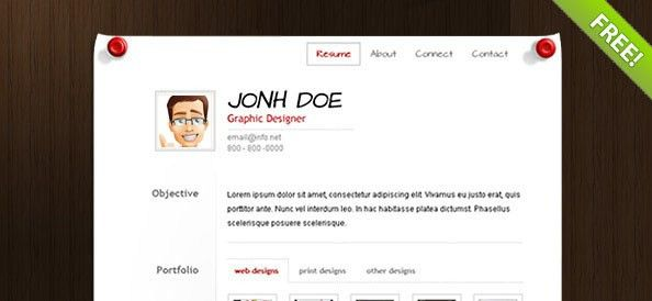 Resume Template Website. 40+ Best Cv & Resume Wordpress Themes ...