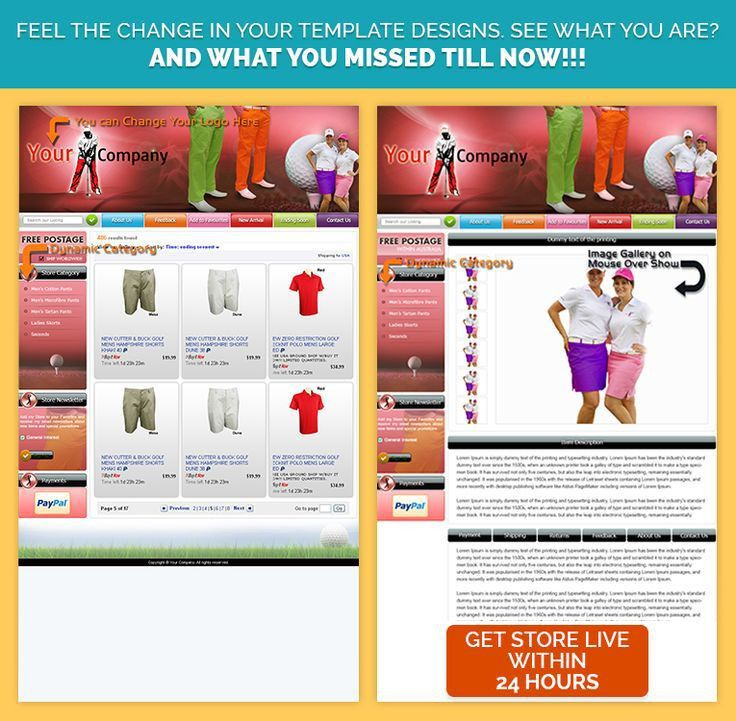 9 best eBay Auction Listing HTML Template for Apparel Cloth ...