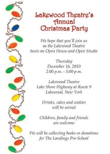 How To Write Invitation Letter For Christmas Party - Cover Letter ...