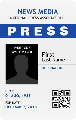 MS Word Photo ID Badge Templates for all Professionals | Word ...