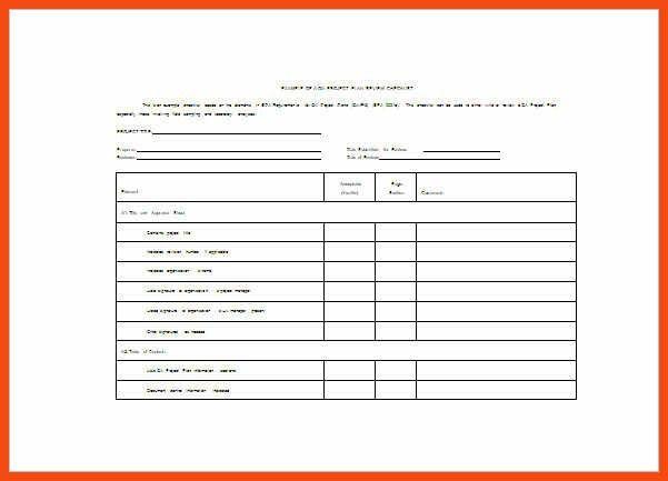 project planner template | program format