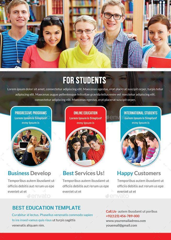 Junior School Education Flyer Template by afjamaal   GraphicRiver