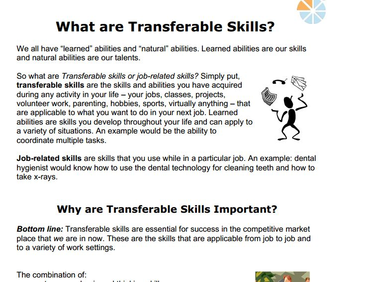 transferable skills | Ashley McMurchy
