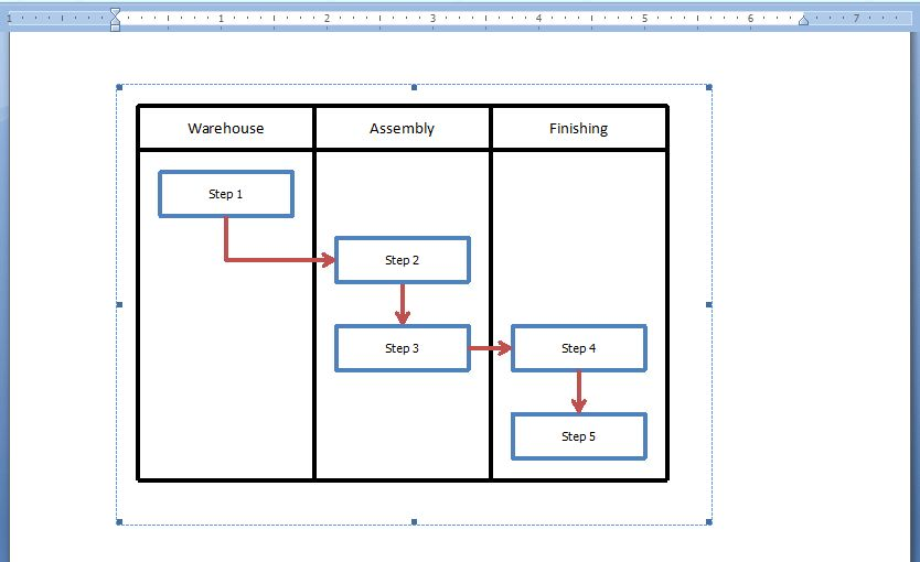 How to Embed an Excel Flowchart in Microsoft Word | BreezeTree