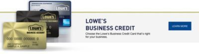 Lowe's Credit Center