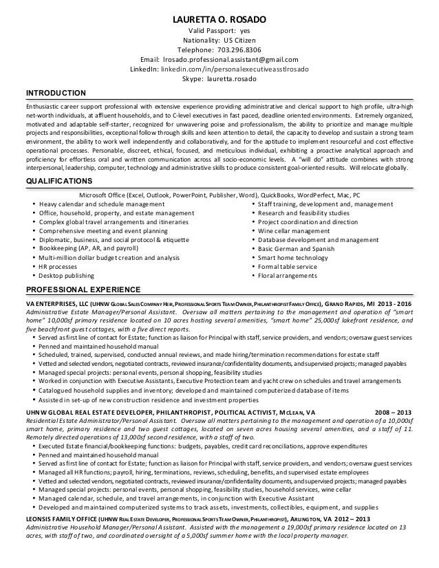 Estate Manager Cover Letter 19 Create My Cover Letter - uxhandy.com