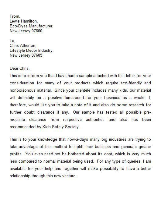 Business Introduction Letter. Letter Of Introduction Example - 12+ ...